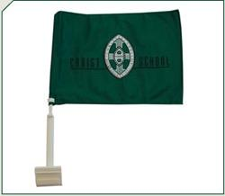 Christ School Car Flag