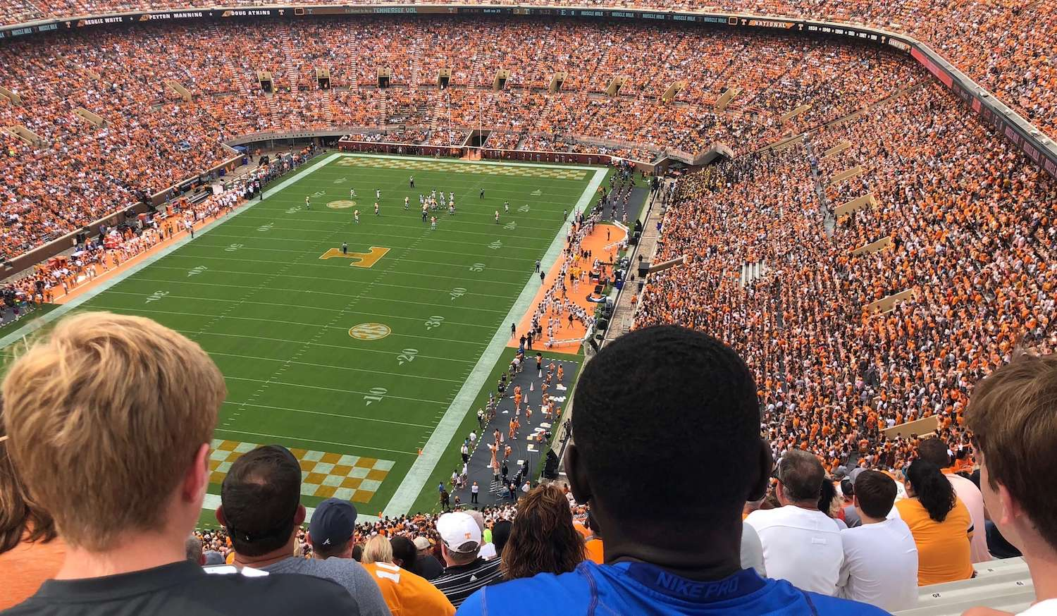 Tennessee Football Game Image