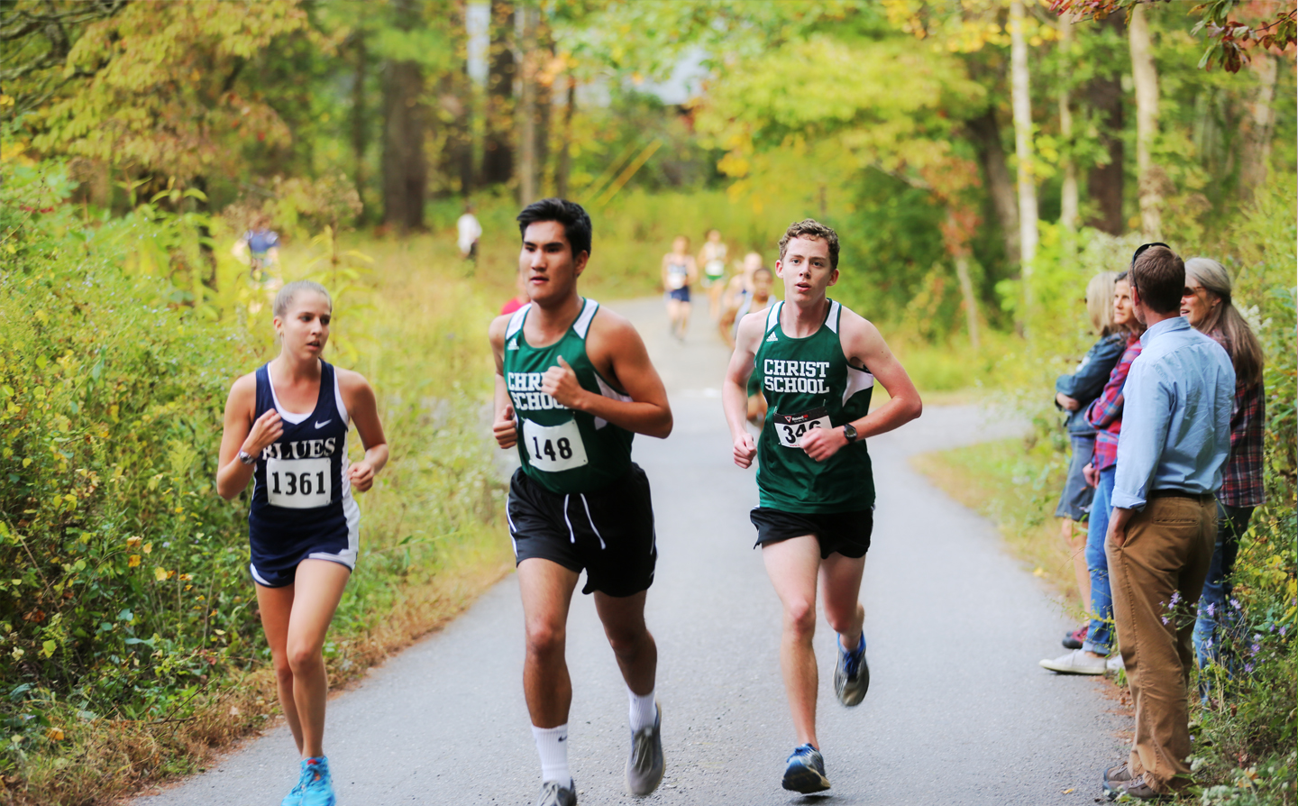 Christ School Cross Country Runners